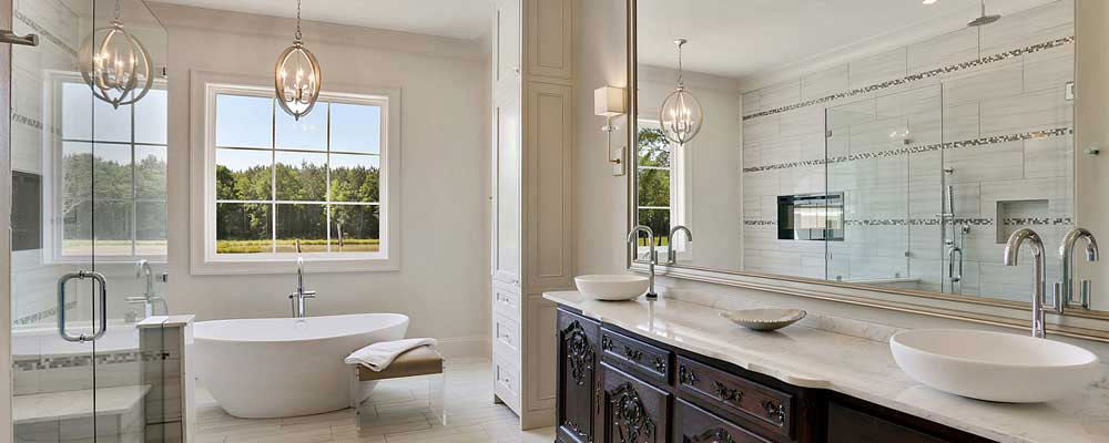 Custom Natural Stone Bathroom Vanities